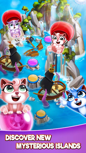 Cat Pop Island: Bubble Shooter Adventure screenshots 6