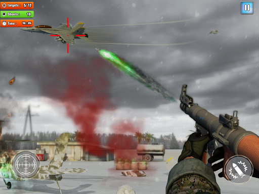 Jet Sky War Fighter 2021: Airplane Shooting Combat  screenshots 6