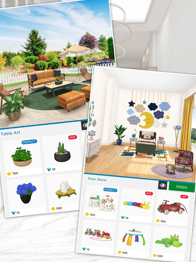 Home Makeover: Decorating Games & House Design Apkfinish screenshots 16