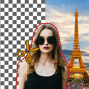 Photo Background changerBackground Remover Editor 2.5.0.0.3.1 (Pro) by vyro.ai logo