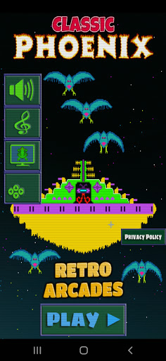 Classic Phoenix Arcade 1.18 screenshots 1
