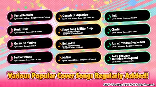 BanG Dream! Girls Band Party! Ver. 4.2.2 MOD Menu APK | God Mode 2