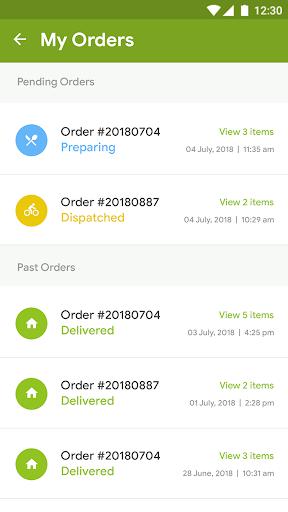 Foodmall - Template 0.0.4 Screenshots 8