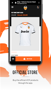 Valencia CF - Official App Capture d'écran