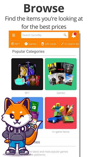 Gameflip: Buy & Sell Games, Game Items, Gift Cards apktram screenshots 2