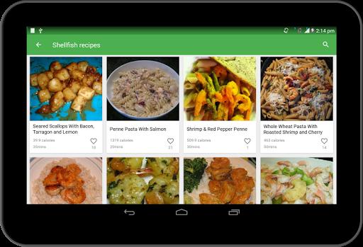 Seafood Recipes 44.0.0 screenshots 4