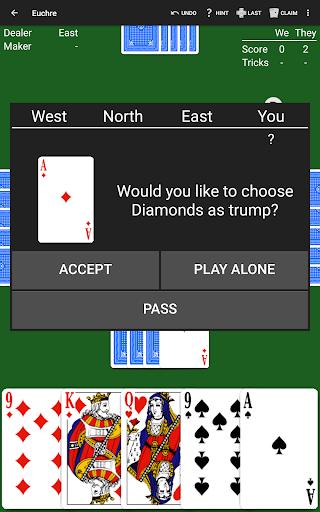 Euchre by NeuralPlay 2.70 screenshots 10