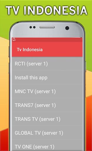TV Indonesia : Semua Saluran Langsung TV Indonesia 1.5 screenshots 1