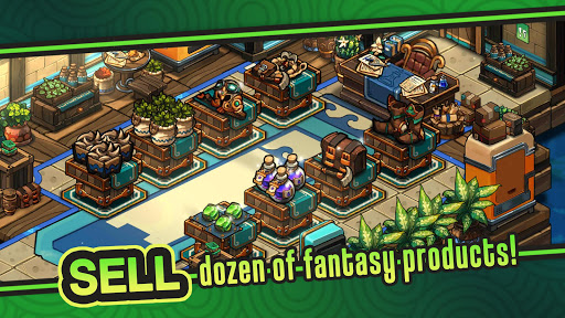 Tiny Shop: Idle Fantasy Shop Simulator screenshots 2
