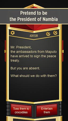 Mr. President u2013 Text Adventure screenshots 1