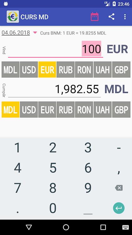 schimb valutar app moldova