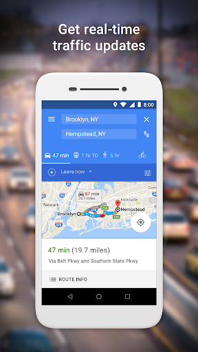 Google Maps Go - Directions, Traffic & Transit  screenshots 2