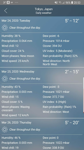 Weather 4.1 Screenshots 5