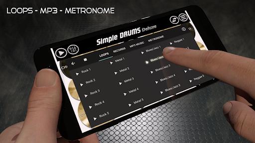 Simple Drums Deluxe - The Drum Simulator  Screenshots 22