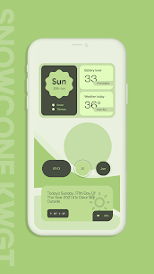 Snow Cone For KWGT Pro (MOD APK, Paid/Patched) v5.0 1