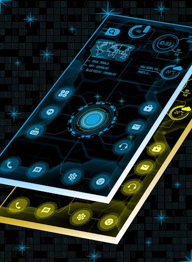 circuit launcher 2020 - next generation theme screenshot 3