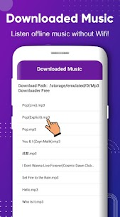 Free Mp3 Music Downloader- Download Offline Music Apk Download 2021 5