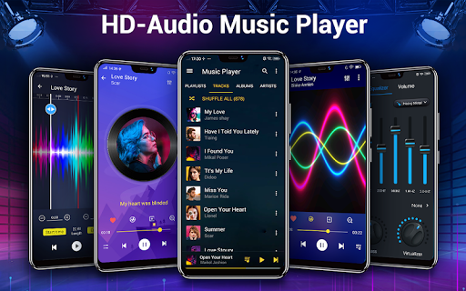 Music Player - Bass Booster & Free Music android2mod screenshots 14