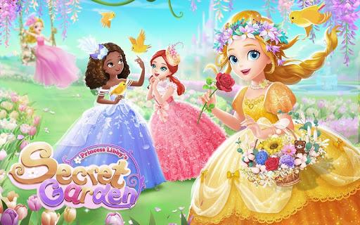 Princess Libby🌸Secret Garden apklade screenshots 1