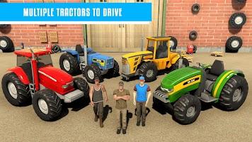 Mega Ramp - Tractor Stunt Game