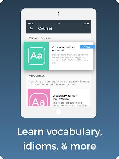 Improve English: Vocabulary, Grammar, Flashcards 2.29.0 Screenshots 14
