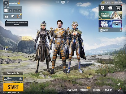 PUBG MOBILE – RUNIC POWER Apk Mod + OBB/Data for Android. 8