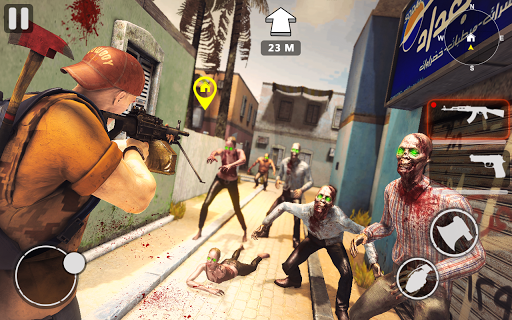 death invader: zombie survival shooting game screenshot 1