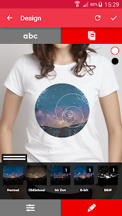 T-shirt design – Snaptee 2