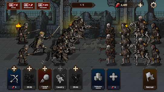 King's Blood: The Defense MOD (Unlimited Diamonds) 2