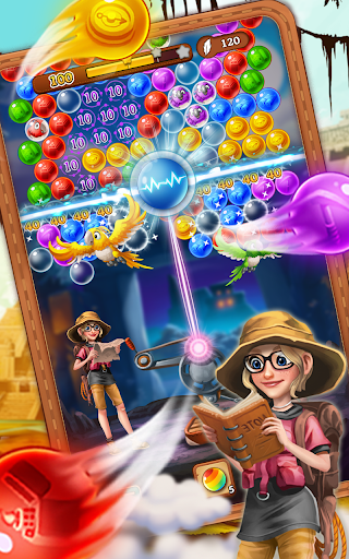 Bubble Journey -  Bubble shooter & Adventure story android2mod screenshots 11