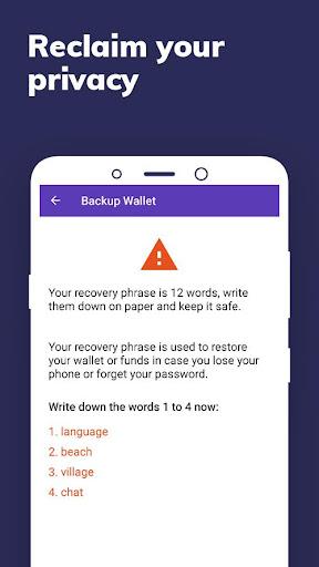 Enjin: Bitcoin, Ethereum, Blockchain Crypto Wallet 1.11.1-r Screenshots 7