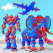 Flying Monster Truck Transform Elephant Robot Game
