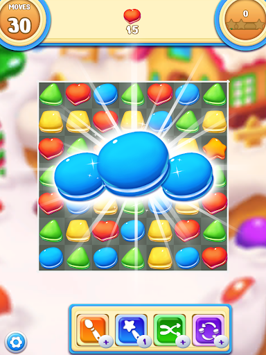 Cookie Macaron Pop : Sweet Match 3 Puzzle 1.5.4 screenshots 9