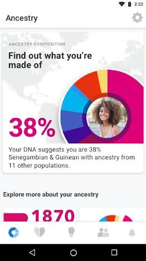 23andMe - DNA Testing : Health & Ancestry  screenshots 1