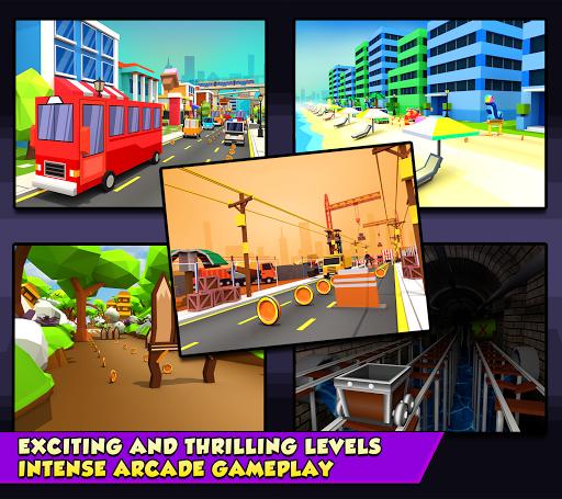 KIDDY RUN - Blocky 3D Running Games & Fun Games 1.04 screenshots 13