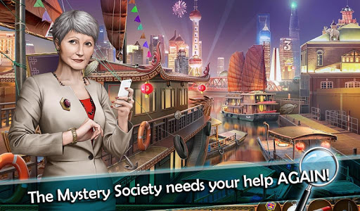 Mystery Society 2: Hidden Objects Games apkslow screenshots 18