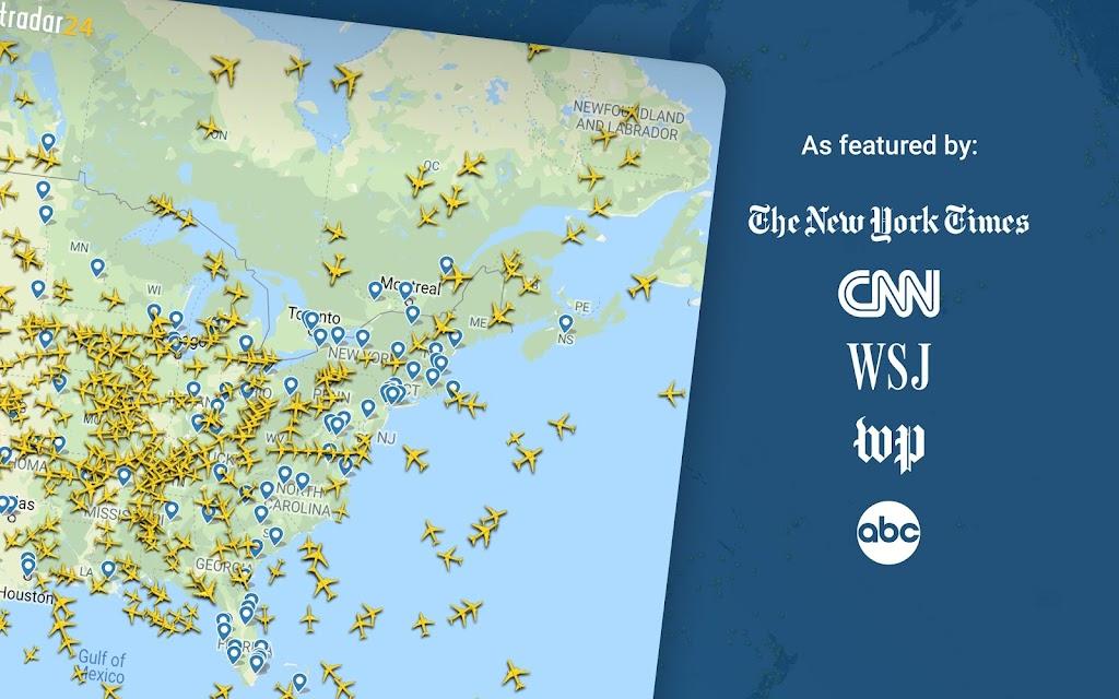 Flightradar24 Flight Tracker poster 8