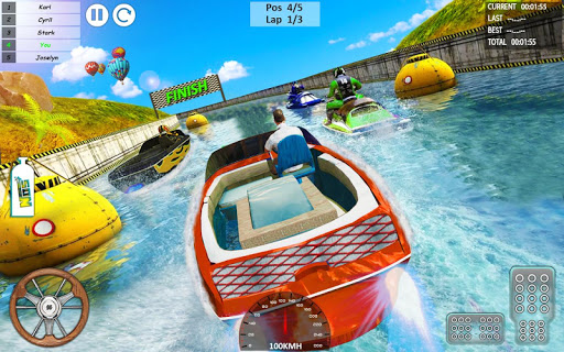 Xtreme Boat Racing 2019: Speed Jet Ski Stunt Games screenshots 9