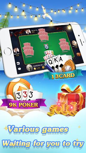 Chinese poker - Pusoy, Capsa susun, Free 13 poker 1.0.0.23 Screenshots 3
