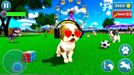 Virtual Puppy Dog Simulator: Cute Pet Games 2021 5