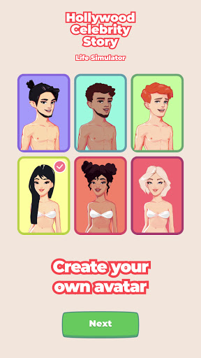 Code Triche Hollywood Celebrity Story Life Simulator (Astuce) APK MOD screenshots 3