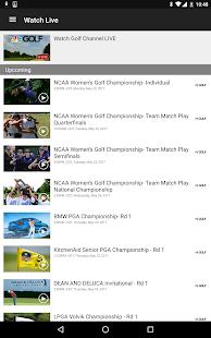 Golf Channel 5.4.9 Screenshots 14