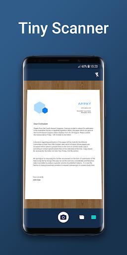 Tiny Scanner - PDF Scanner App  screenshots 1