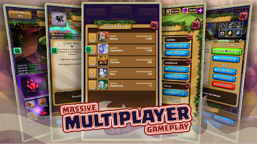 ud83cudf83Almighty: Multiplayer god idle clicker gameud83cudf83 android2mod screenshots 4