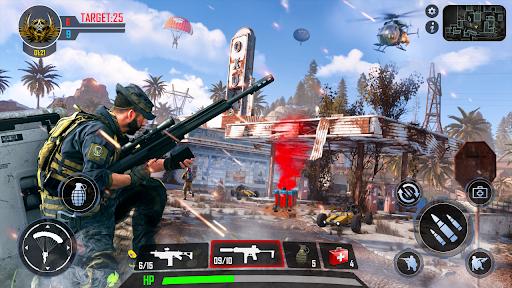 FPS Rencontrer Frapper - Hors ligne Tournage Jeux APK MOD (Astuce) screenshots 2