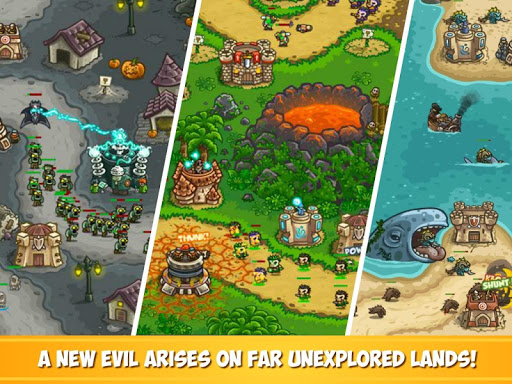 Kingdom Rush Frontiers - Tower Defense Game  screenshots 7