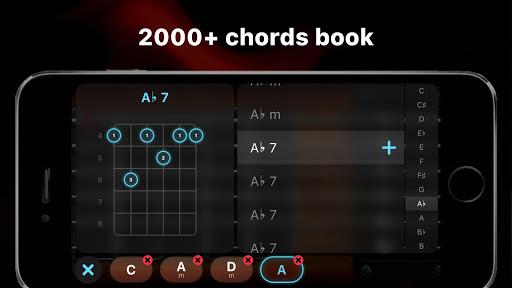 Guitar - play music games, pro tabs and chords! screenshots 5