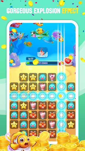 Ocean Connect Mania-Rescue Fish  screenshots 4