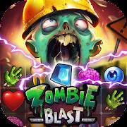 Zombie Blast - Match 3 Puzzle RPG Game