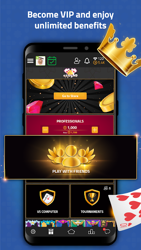 VIP Jalsat | Tarneeb, Dominos & More  screenshots 6